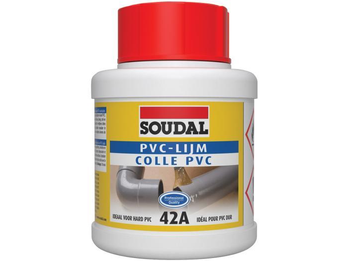 Colle PVC Soudal 42A colle de colmatage solvantée de type gel