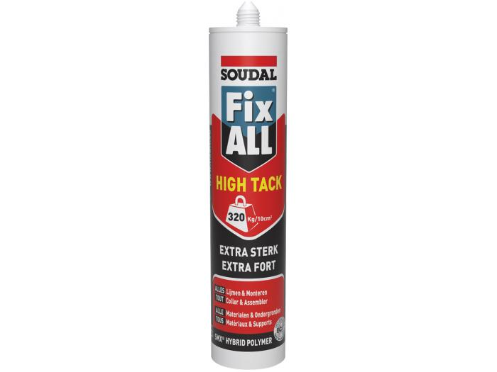 Fix ALL High Tack Wit 290ml